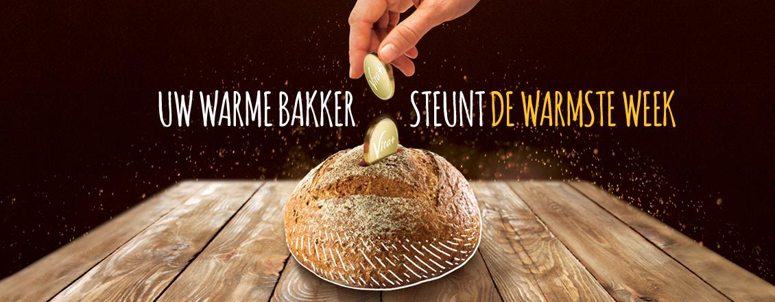 Uw warme bakker steunt de warmste week