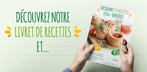 Action livrets de recettes Vita+