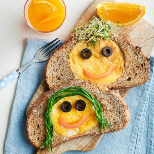 Omelet voor kinderen